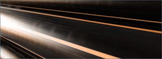 ACTIV'reso - EAU - Tube eau non potable à bandes marrons en barre