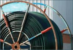 ACTIV'reso - Tube pehd - Tube fibres optiques bandes vertes en touret