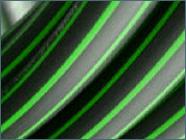 ACTIV'reso - Tubes pehd - Tubes fibres optiques bandes vertes en couronne