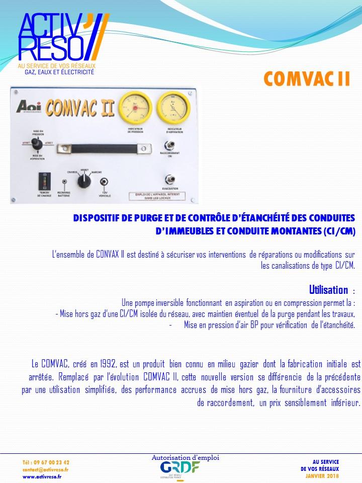 Dispositif de purge & contrôle d'étanchéite CICM - activereso