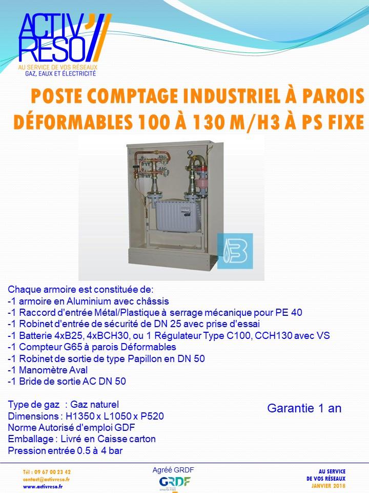 poste comptage industriel a parois déformables 100_130mh3 a psFix - activreso
