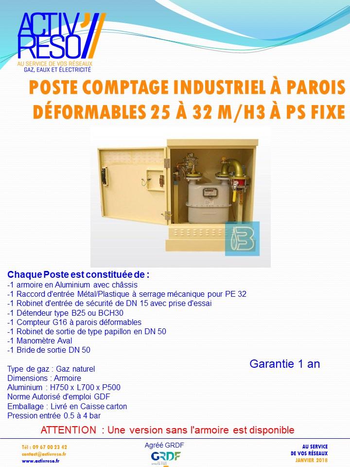 poste comptage industriel a parois déformables 25_32 mh3 a psFix - activreso
