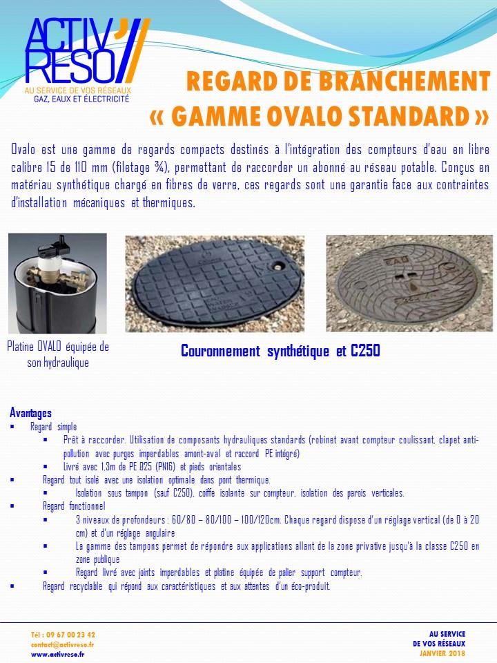 regard de branchement gamme ovalo standard- activreso