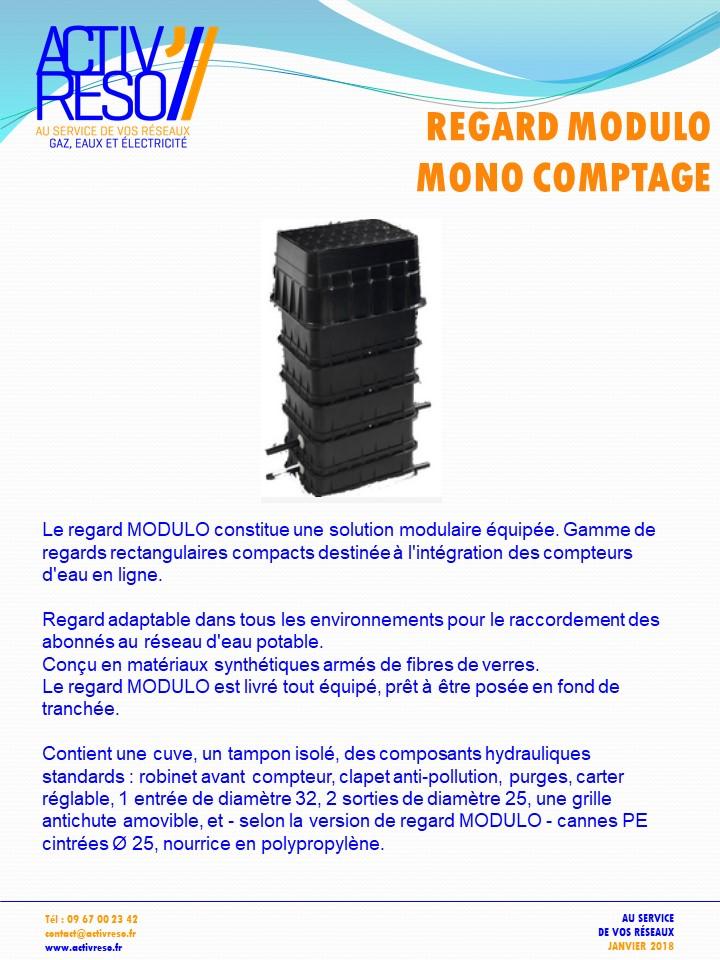 regard modulo monocomptage - activreso