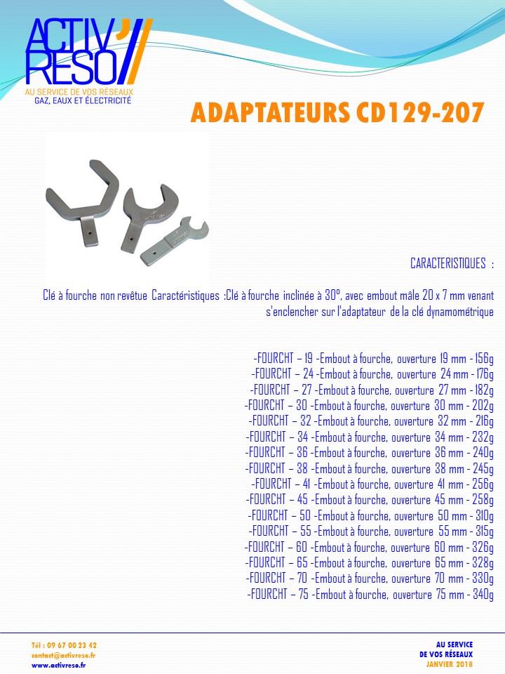 cle dynamometrique - adaptateurs - activreso