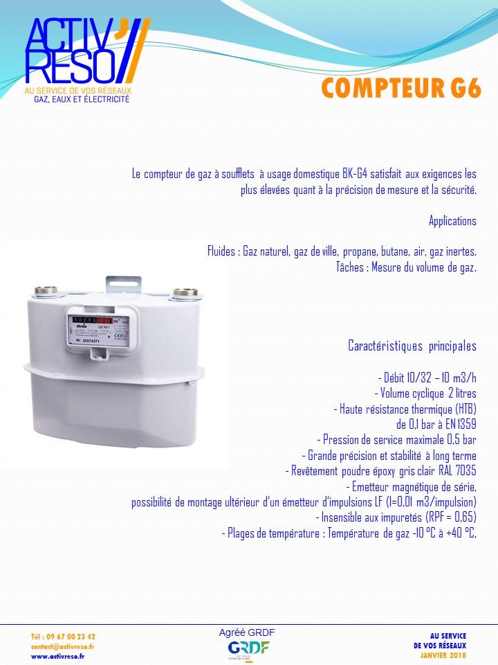 compteur G6 - activreso