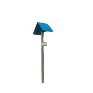 balise chapeau electrique bleue - activreso