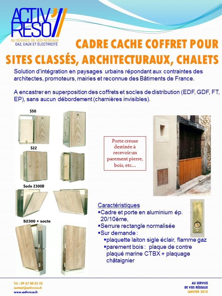 cadre cache coffrets sites classes - activreso