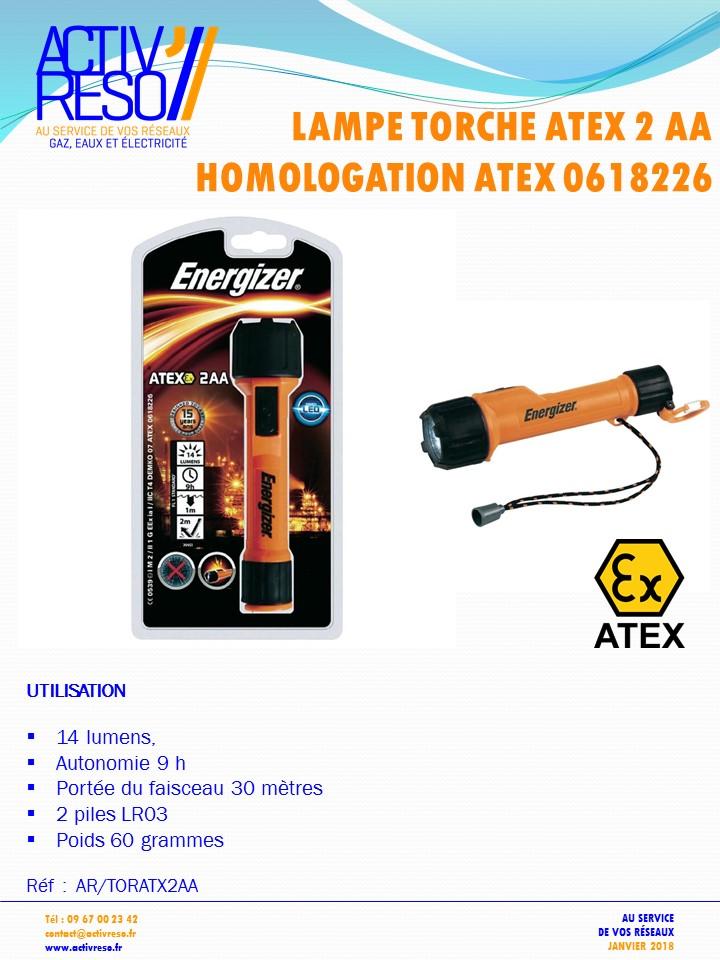 lampe torche ATEX - activreso