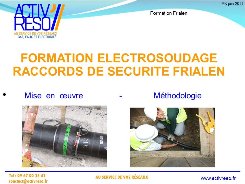 technique de soudage par electro-fusion - activreso 13
