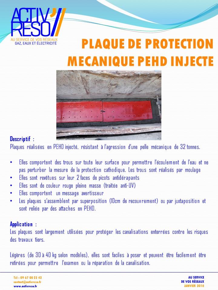 plaque de protection mecanique RTE - activreso