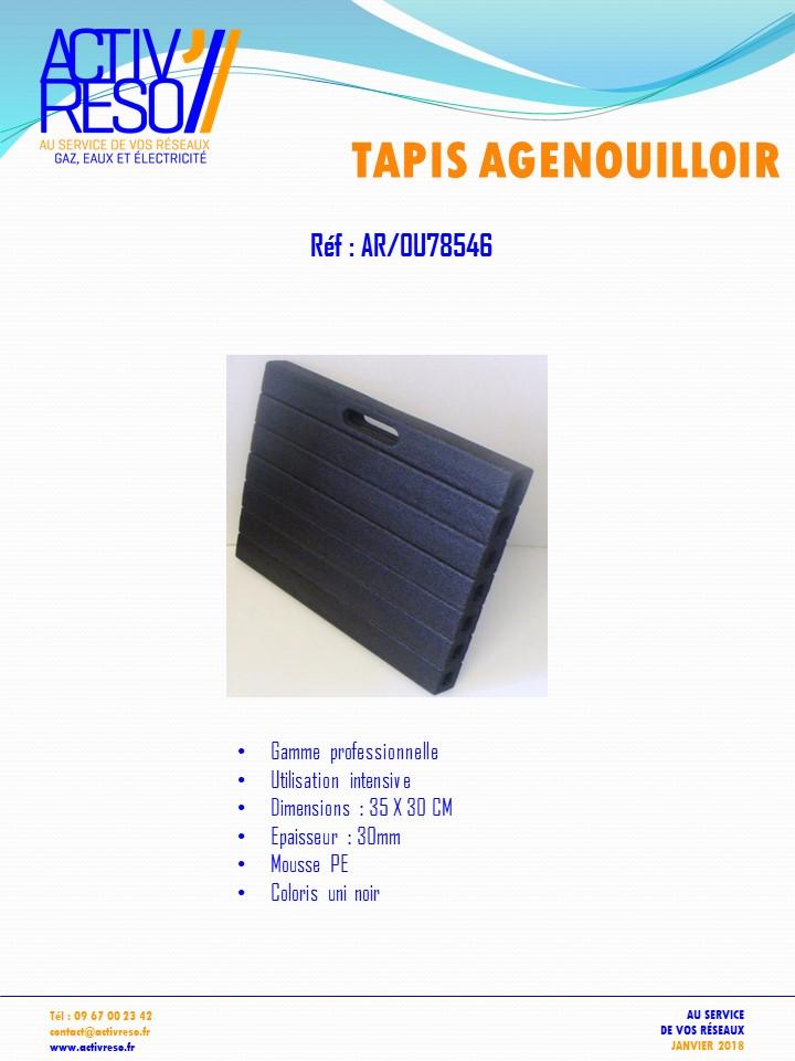 tapis agenouilloir - activreso